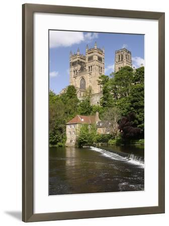 Durham Cathedral and Mill-Peter Thompson-Framed Photographic Print