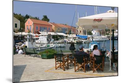 Fiskardo Harbour, Kefalonia, Greece-Peter Thompson-Mounted Photographic Print