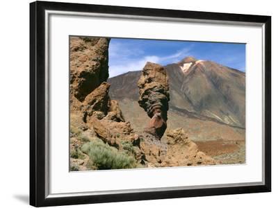 Roques Chinchado, Parque Nacional Del Teide, Tenerife, Canary Islands, 2007-Peter Thompson-Framed Photographic Print