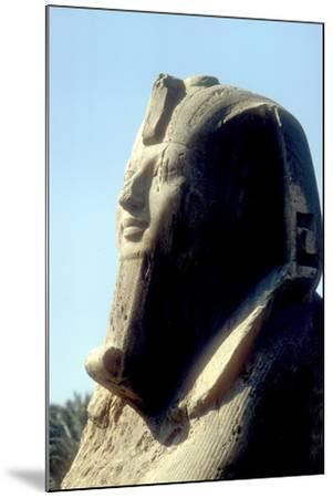 Head of Alabaster Sphinx, Memphis, Egypt, 18th or 19th Dynasty, C14th - 13th Century Bc-CM Dixon-Mounted Photographic Print