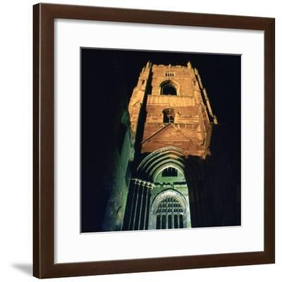 Fountains Abbey, Illuminated, 12th Century-CM Dixon-Framed Photographic Print