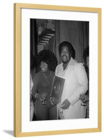 Barry White, London,1974-Brian O'Connor-Framed Photographic Print