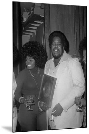 Barry White, London,1974-Brian O'Connor-Mounted Photographic Print