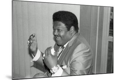 Fats Domino, Royal Festival Hall, London, 1985-Brian O'Connor-Mounted Photographic Print