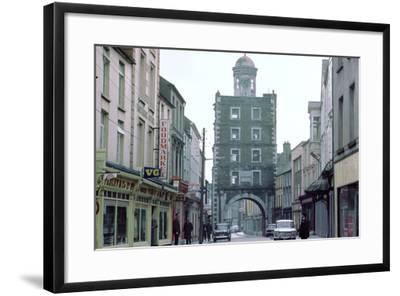 Street Scene in Youghal, County Cork, Ireland-CM Dixon-Framed Photographic Print