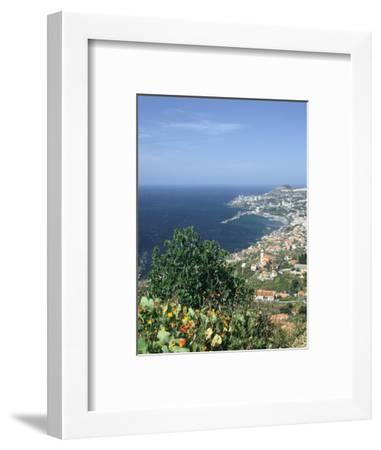 Panorama, Funchal, Madeira, Portugal-Peter Thompson-Framed Photographic Print