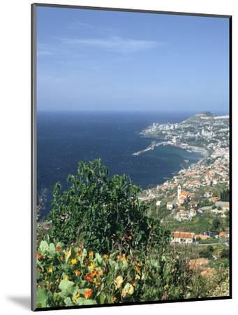 Panorama, Funchal, Madeira, Portugal-Peter Thompson-Mounted Photographic Print