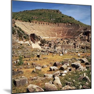 Greek Theatre at Ephesus, 1st Century Bc-CM Dixon-Mounted Photographic Print