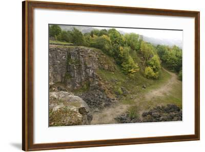 Stone Quarry, the National Stone Centre, Derbyshire, 2005-Peter Thompson-Framed Photographic Print