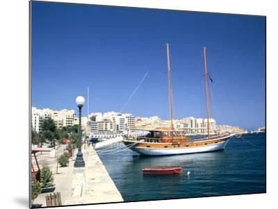 Waterfront of Sliema, Malta-Peter Thompson-Mounted Photographic Print