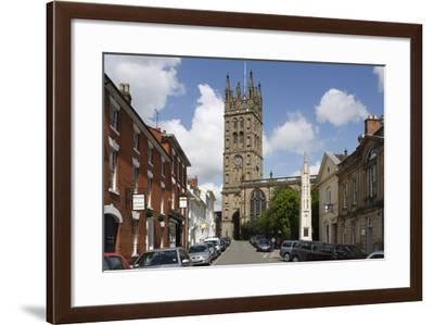 The Collegiate Church of St Mary, Warwick, Warwickshire, 2010-Peter Thompson-Framed Photographic Print