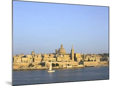 Valletta, Viewed from Sliema, Malta-Peter Thompson-Mounted Photographic Print