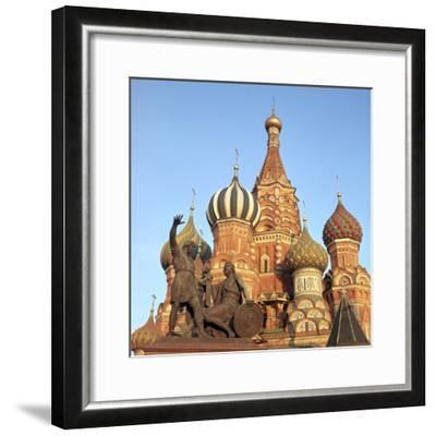 St Basils Cathedral Domes, 16th Century-CM Dixon-Framed Photographic Print