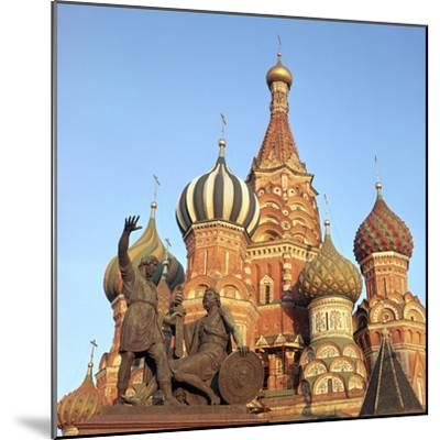 St Basils Cathedral Domes, 16th Century-CM Dixon-Mounted Photographic Print