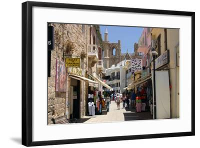 Istiklal Caddesi, Famagusta, North Cyprus-Peter Thompson-Framed Photographic Print