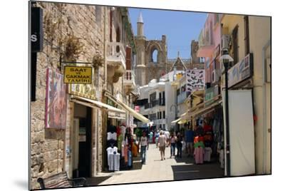 Istiklal Caddesi, Famagusta, North Cyprus-Peter Thompson-Mounted Photographic Print