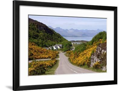 View of Skye, Highland, Scotland-Peter Thompson-Framed Photographic Print