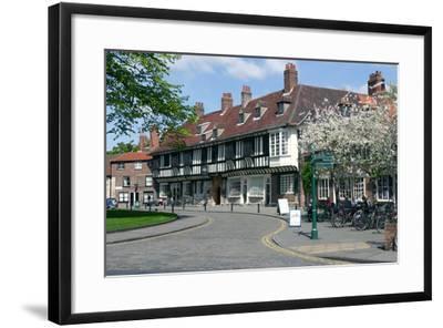 College Street, York, North Yorkshire-Peter Thompson-Framed Photographic Print