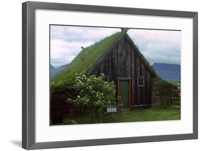A Turf Church from the 1850S-CM Dixon-Framed Photographic Print