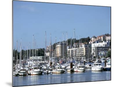 Port De Plaisance, Boulogne, France-Peter Thompson-Mounted Photographic Print
