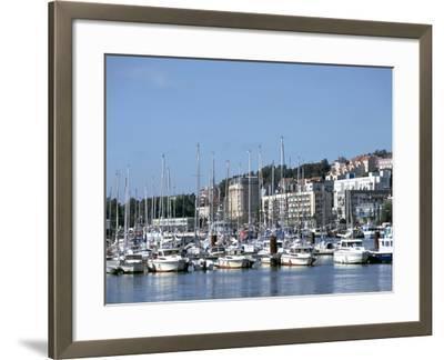 Port De Plaisance, Boulogne, France-Peter Thompson-Framed Photographic Print