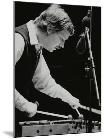 Gary Burton Playing the Vibraphone at the Forum Theatre, Hatfield, Hertfordshire, 25 November 1980-Denis Williams-Mounted Photographic Print