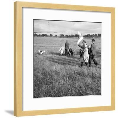 Hound Trailing, One of Cumbrias Oldest and Most Popular Sports, Keswick, 2nd July 1962-Michael Walters-Framed Photographic Print