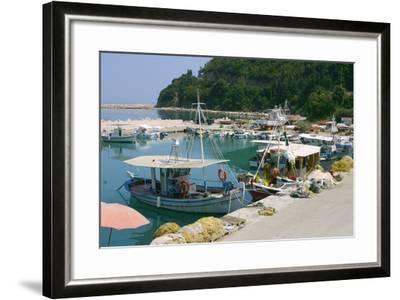 Harbour of Poros, Kefalonia, Greece-Peter Thompson-Framed Photographic Print