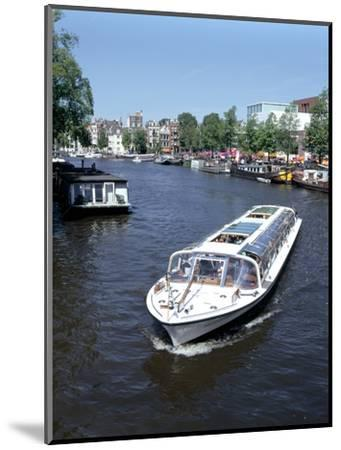 Amstel Canal and Bloumerbrug, Binnen, Amsterdam, Netherlands-Peter Thompson-Mounted Photographic Print
