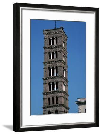 The Tower of Santa Maria in Rome, 12th Century-CM Dixon-Framed Photographic Print