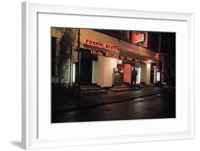 Ronnie Scott Club, 2003-Brian O'Connor-Framed Photographic Print