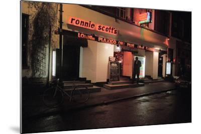 Ronnie Scott Club, 2003-Brian O'Connor-Mounted Photographic Print
