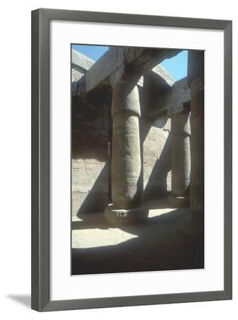 The Great Hypostyle Hall, Temple of Amun, Karnak, Egypt, 19th Dynasty, C13th Century Bc-CM Dixon-Framed Photographic Print