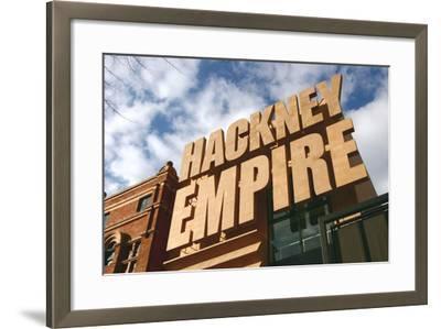 Hackney Empire, London-Peter Thompson-Framed Photographic Print