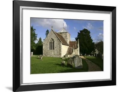 All Saints Church, Fonthill Bishop, Wiltshire, 2005-Peter Thompson-Framed Photographic Print