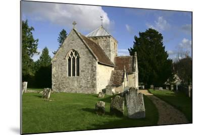 All Saints Church, Fonthill Bishop, Wiltshire, 2005-Peter Thompson-Mounted Photographic Print