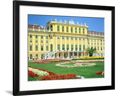 Schonbrunn Imperial Palace, Vienna, Austria-Peter Thompson-Framed Photographic Print