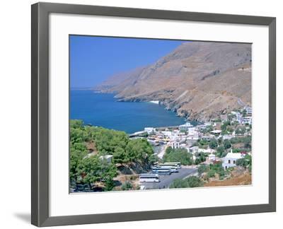 Hora Sfakion, Crete, Greece-Peter Thompson-Framed Photographic Print