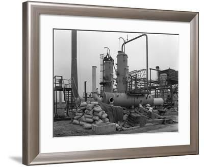 Sulphur Recovery Plant under Construction at the Coleshill Gas Works, Warwickshire, 1962-Michael Walters-Framed Photographic Print