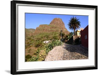 Street in Masca, Tenerife, Canary Islands, 2007-Peter Thompson-Framed Photographic Print