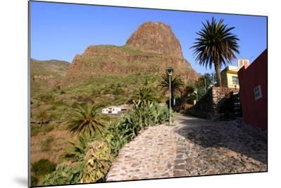 Street in Masca, Tenerife, Canary Islands, 2007-Peter Thompson-Mounted Photographic Print