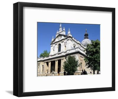 Brompton Oratory, South Kensington, London-Peter Thompson-Framed Photographic Print