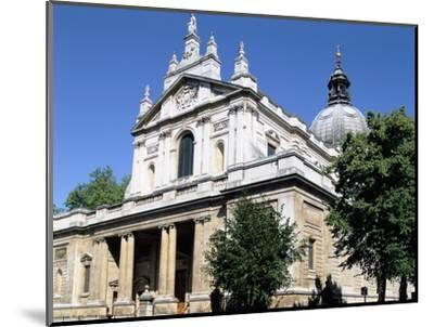 Brompton Oratory, South Kensington, London-Peter Thompson-Mounted Photographic Print