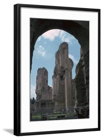 Baths of Caracalla, Built by the Emperors Instruction, 3rd Century-CM Dixon-Framed Photographic Print