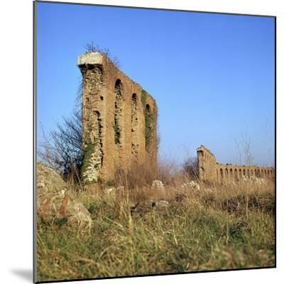 Roman Aqueduct Near the Appian Way, 4th Century Bc-CM Dixon-Mounted Photographic Print