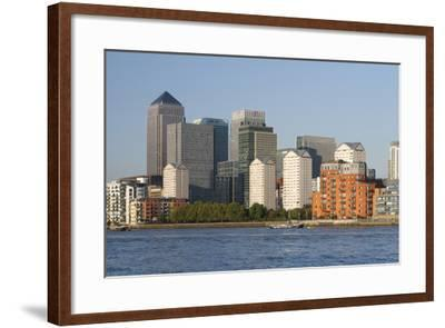 Canary Wharf, London, 2009-Peter Thompson-Framed Photographic Print
