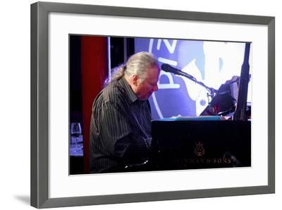 Geoff Castle, Pizza Express, Dean St, London, 2015-Brian O'Connor-Framed Photographic Print
