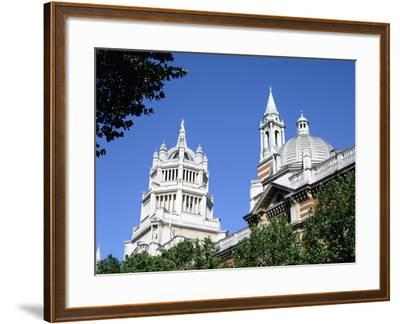 Victoria and Albert Museum, South Kensington, London-Peter Thompson-Framed Photographic Print
