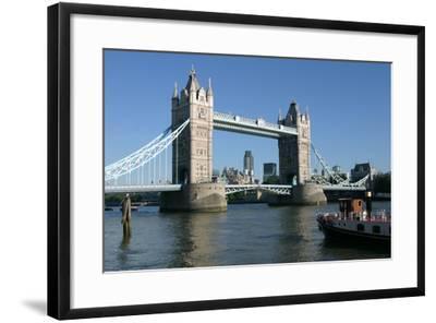 Tower Bridge, London-Peter Thompson-Framed Photographic Print