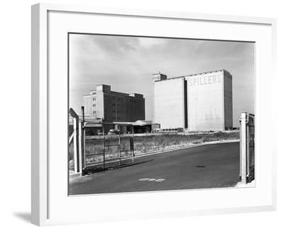 Main Mill Buildings at Spillers Animal Foods, Gainsborough, Lincolnshire, 1965-Michael Walters-Framed Photographic Print
